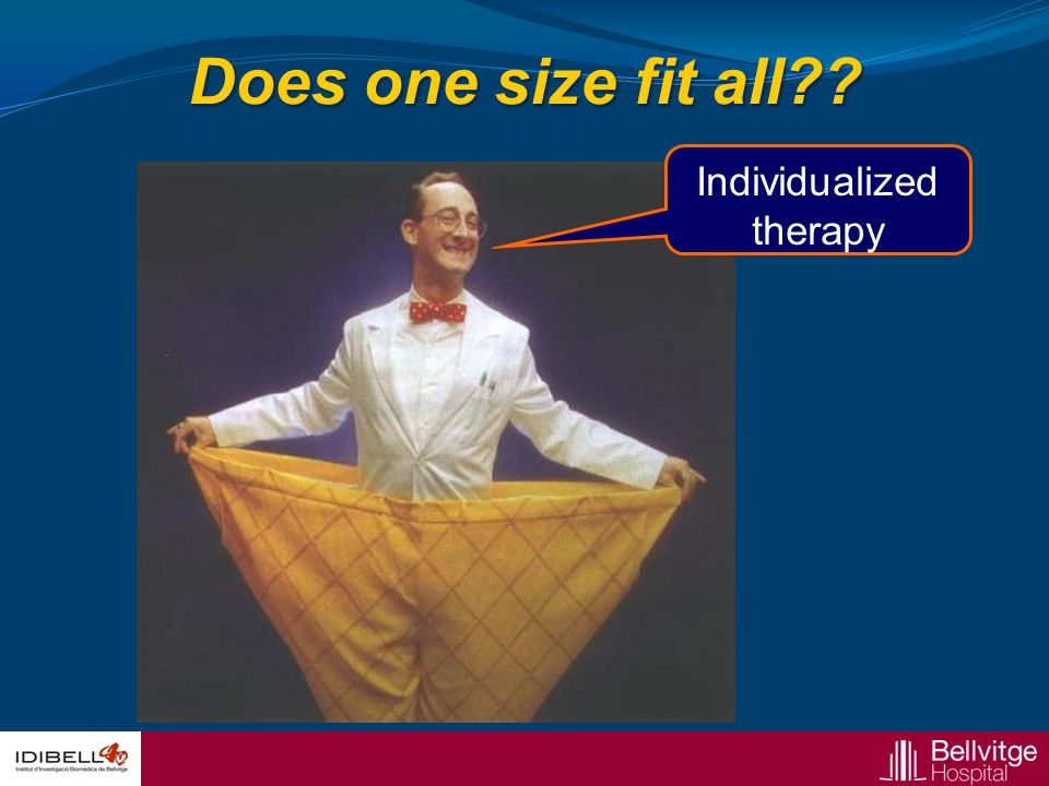 Individualized therapy