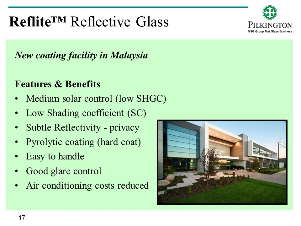Reflite™ Reflective Glass