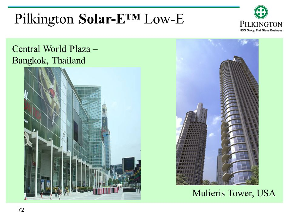 Pilkington Solar-E™ Low-E