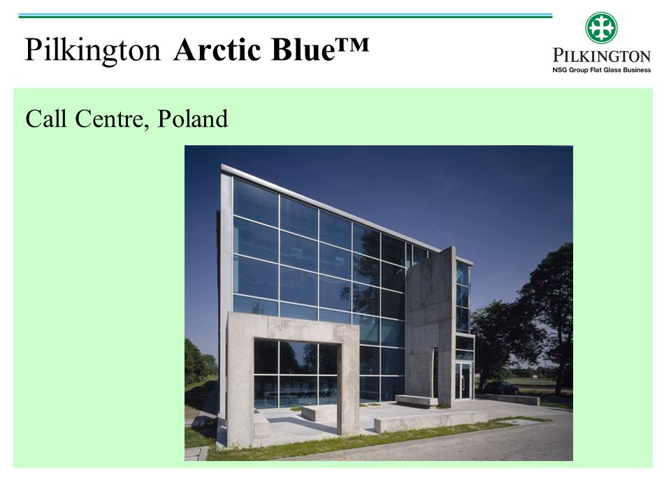 Pilkington Arctic Blue™