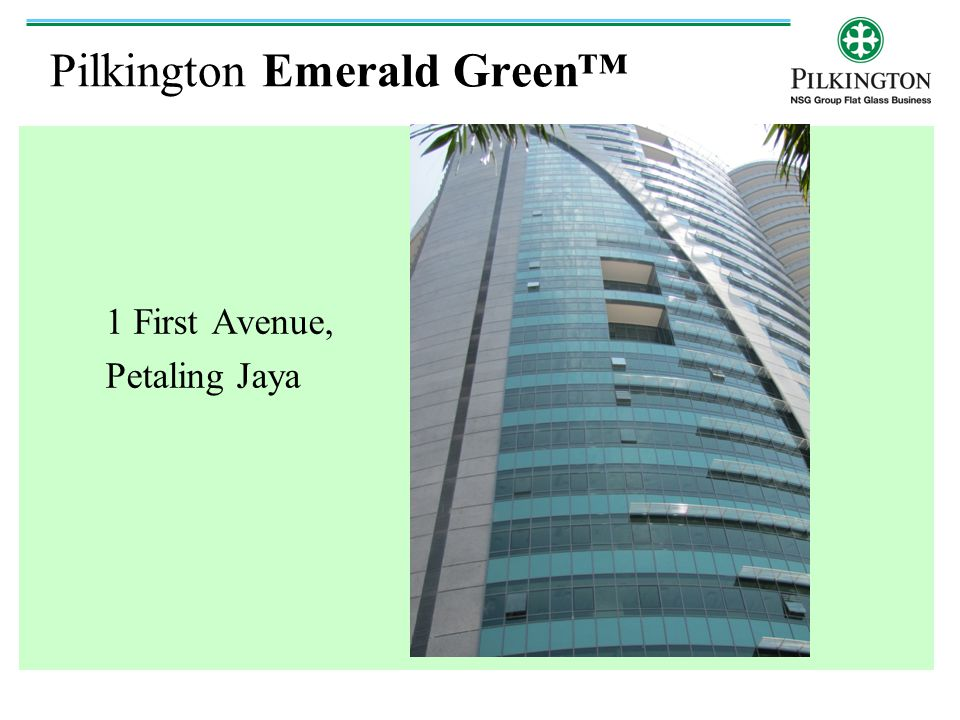 Pilkington Emerald Green™