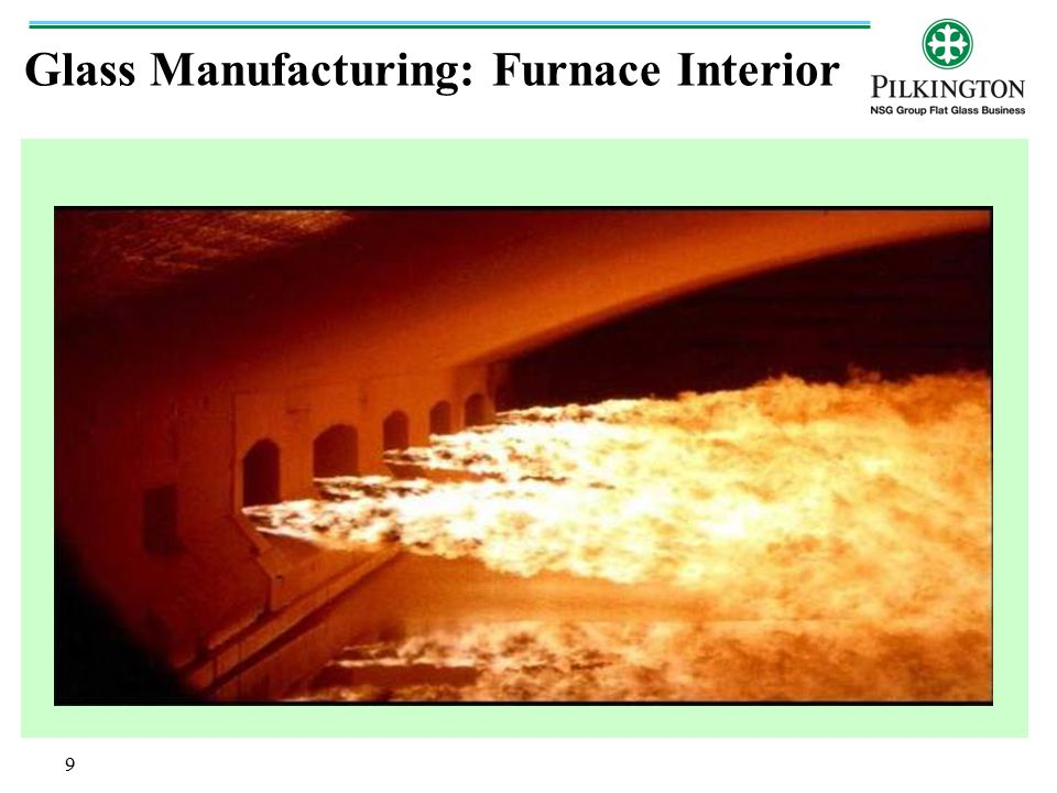 Glass Manufacturing: Furnace Interior