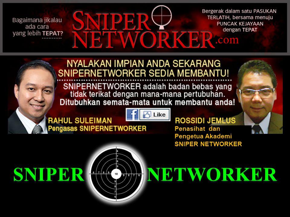 Penasihat dan Pengetua Akademi SNIPER NETWORKER SNIPER NETWORKER
