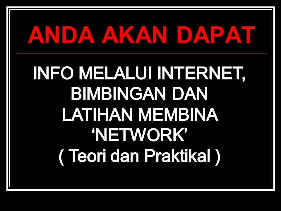 LATIHAN MEMBINA 'NETWORK'