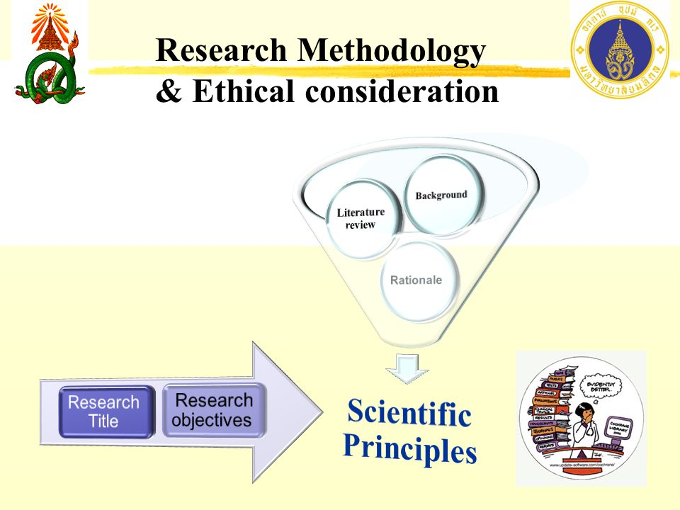 The ethical principles of scientific research