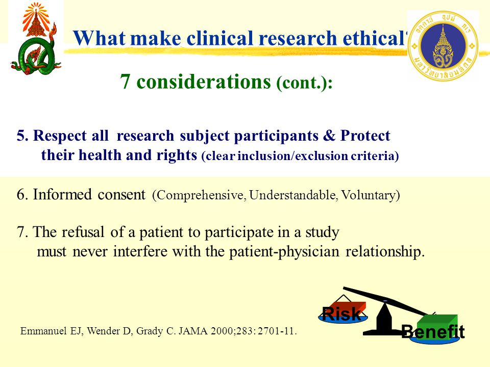 Ethics and Research Methodology