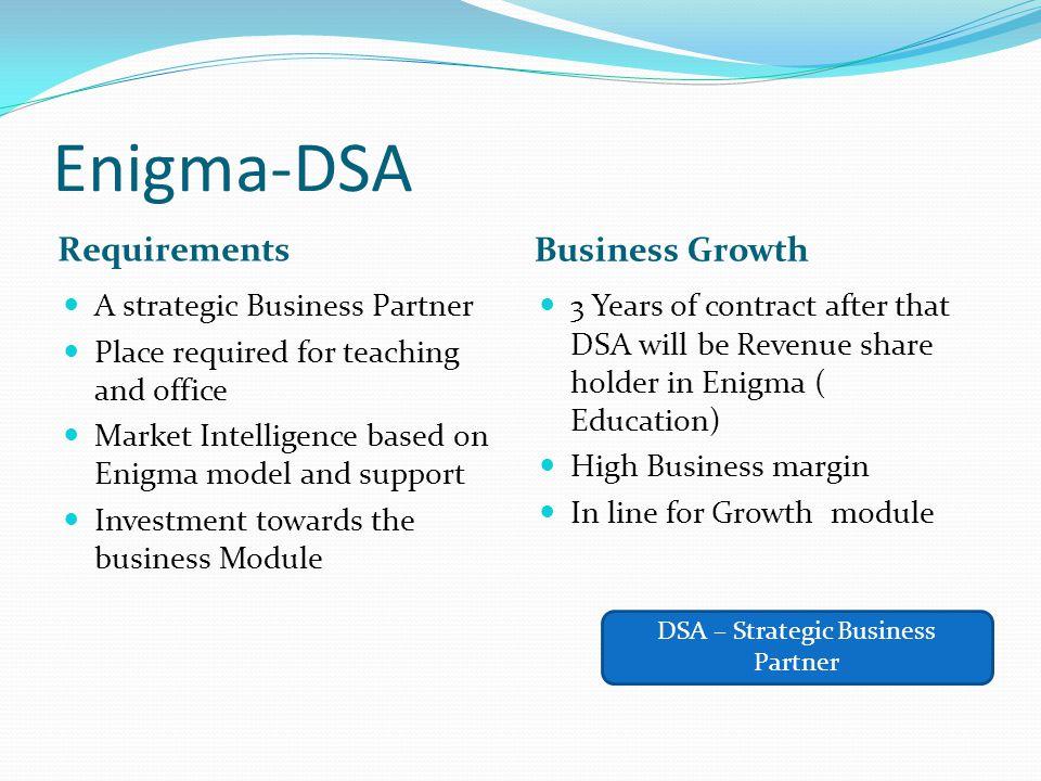 DSA – Strategic Business Partner