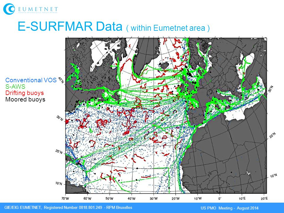E-SURFMAR Data ( within Eumetnet area )