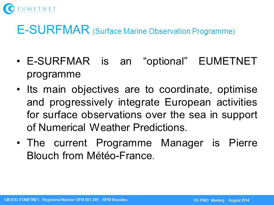 E-SURFMAR (Surface Marine Observation Programme)