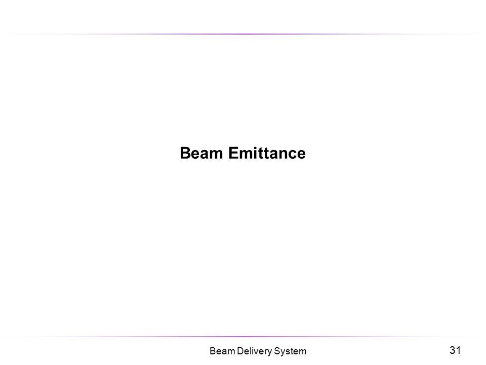 Beam Emittance