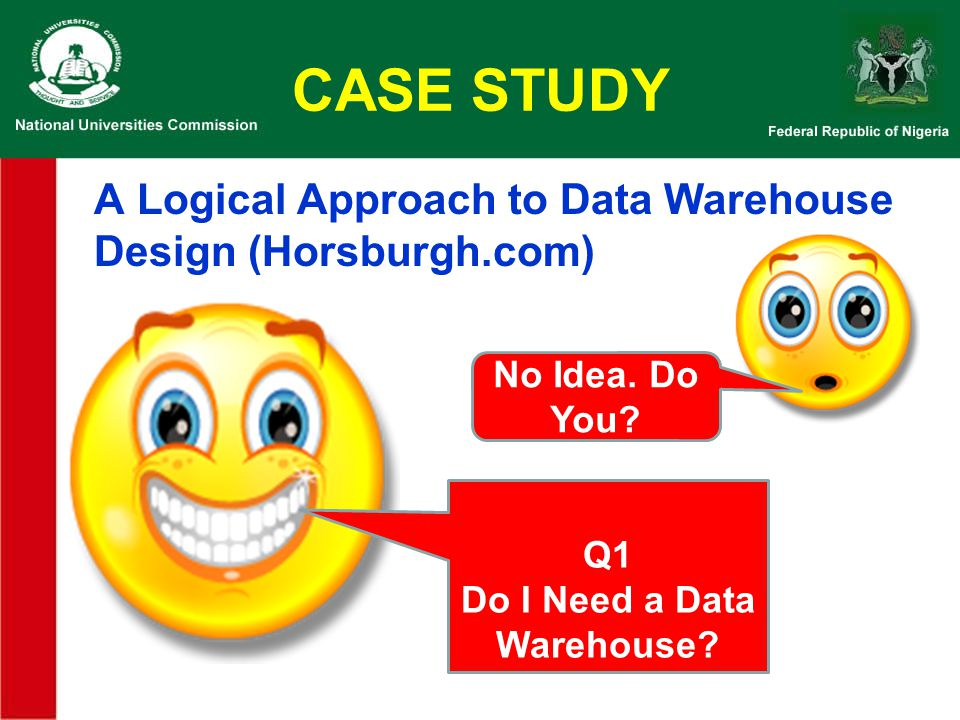 Do I Need a Data Warehouse