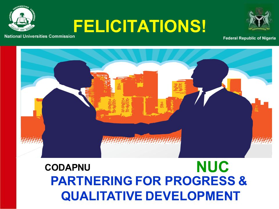 PARTNERING FOR PROGRESS & QUALITATIVE DEVELOPMENT