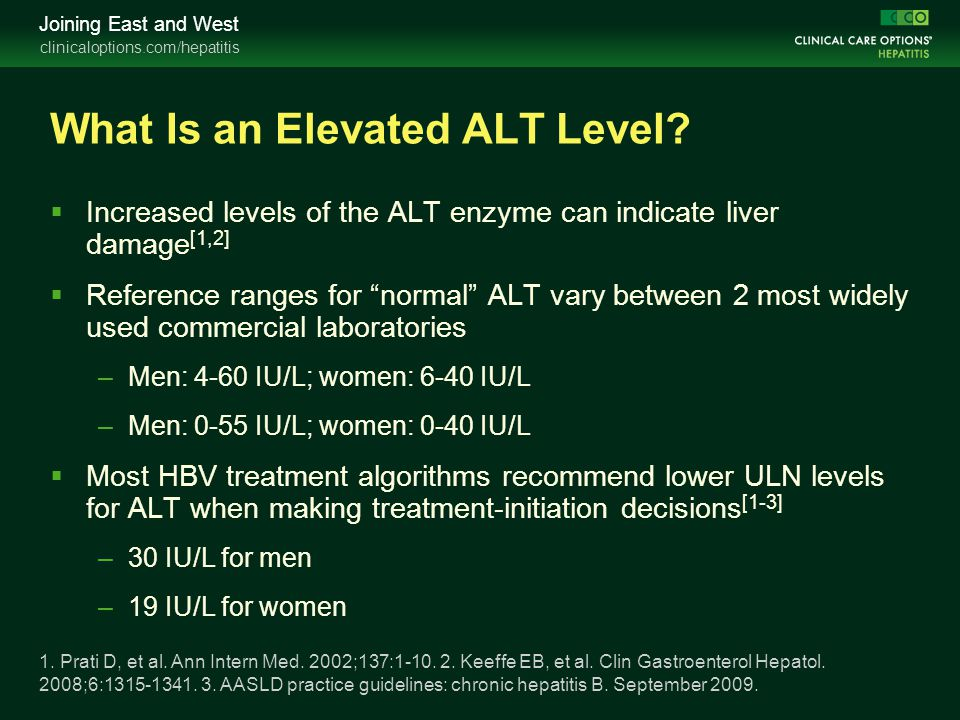 What Is an Elevated ALT Level