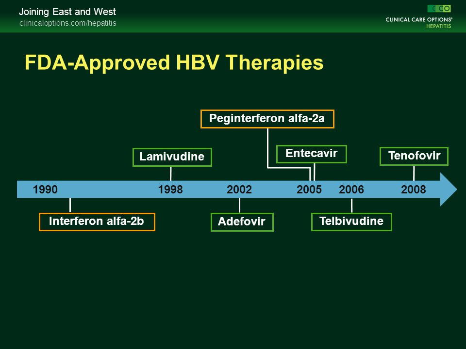 FDA-Approved HBV Therapies