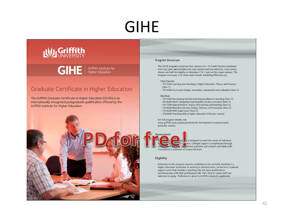 GIHE PD for free!