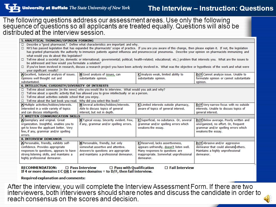Admissions Ereview & Interview Update: - Ppt Download