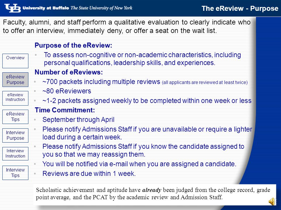 Interview Instruction