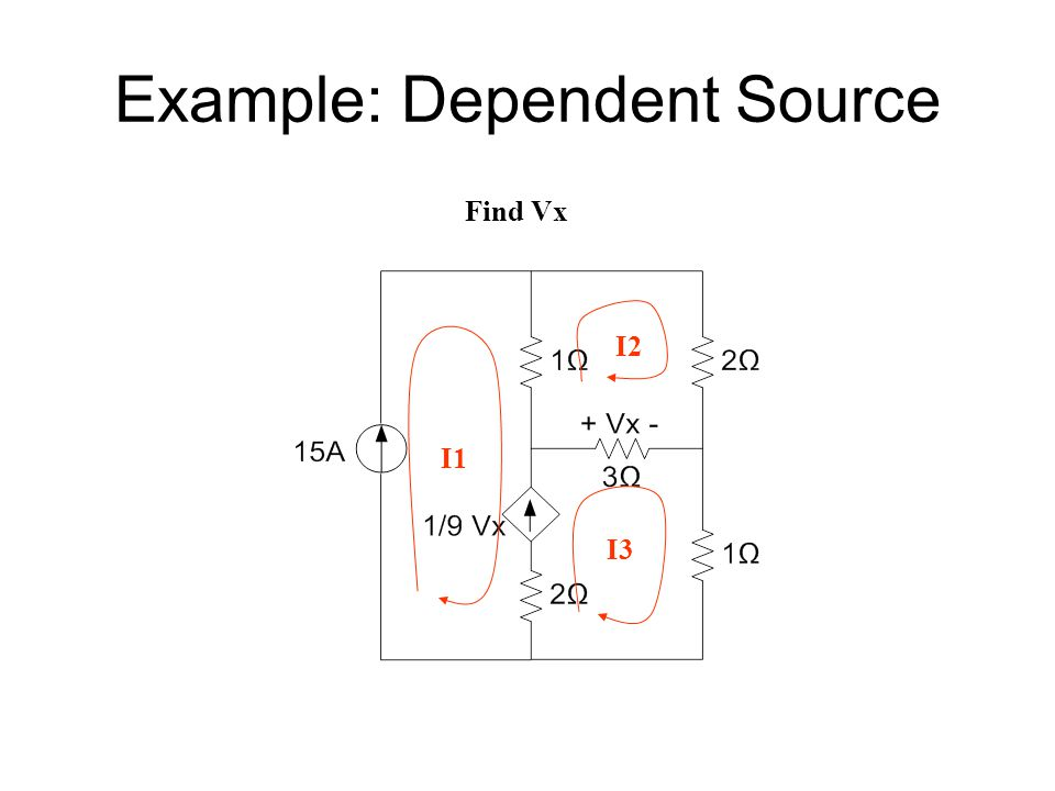 Example: Dependent Source