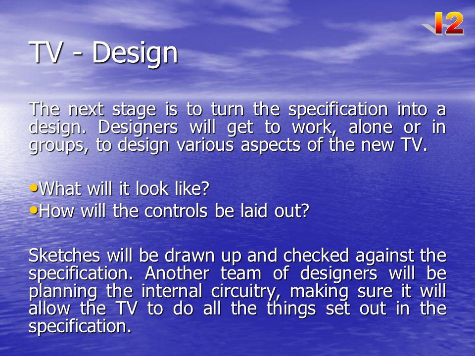 I2 TV - Design.