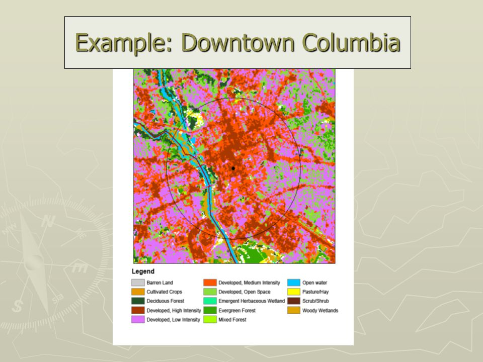 Example: Downtown Columbia