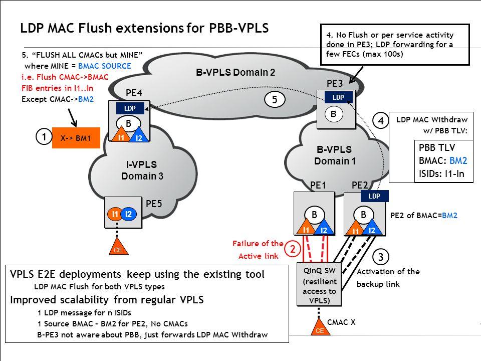 LDP MAC Flush extensions for PBB-VPLS