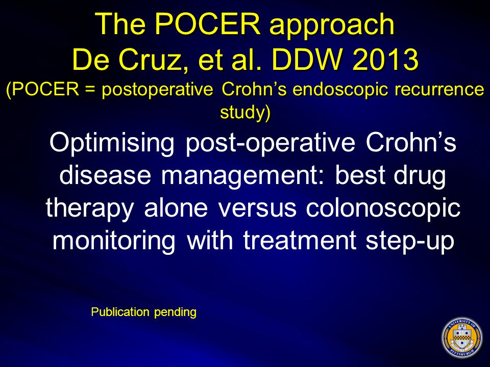The POCER approach De Cruz, et al