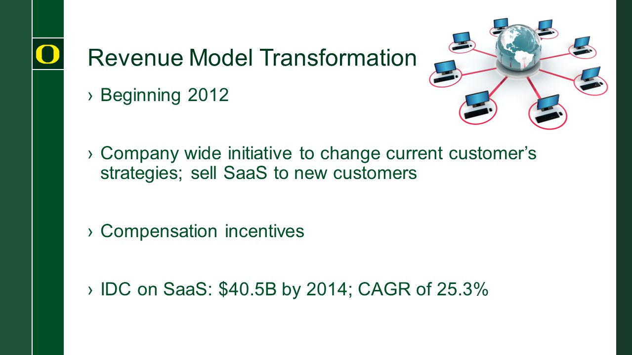 Revenue Model Transformation