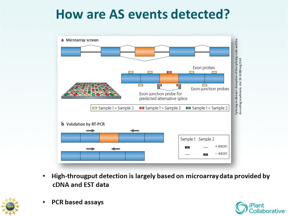 How are AS events detected