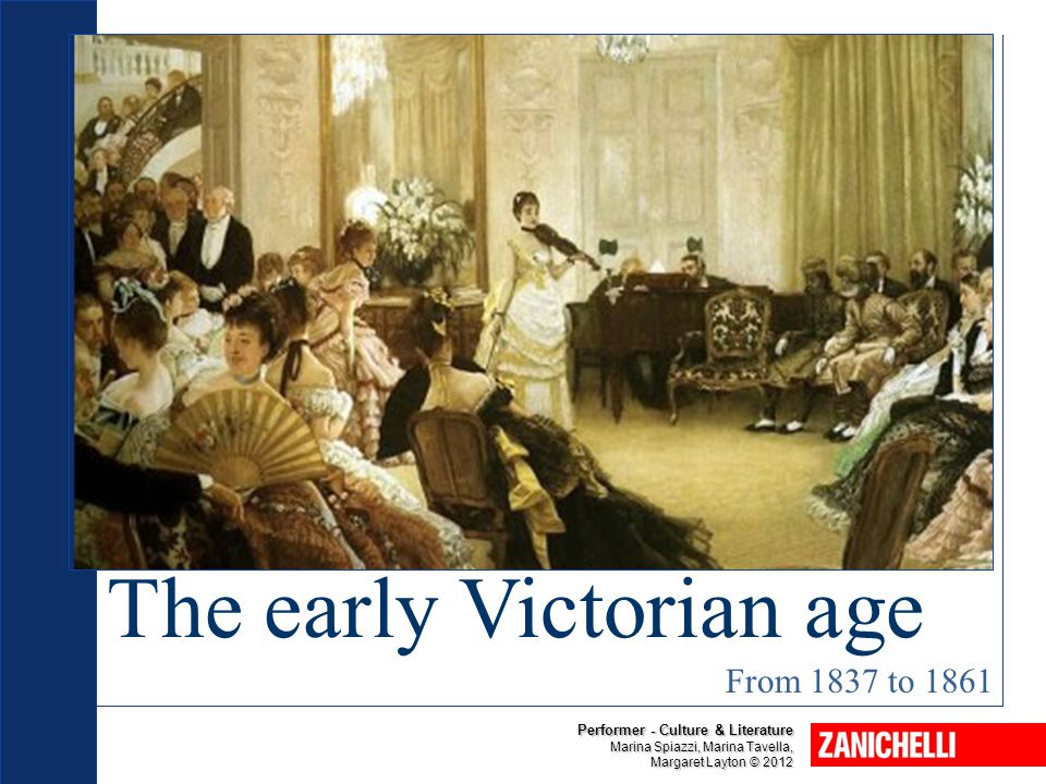 The early Victorian age