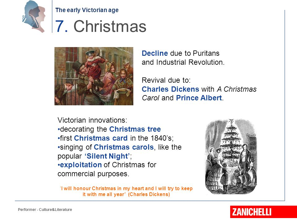 7. Christmas Decline due to Puritans and Industrial Revolution.