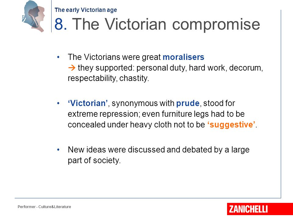 8. The Victorian compromise