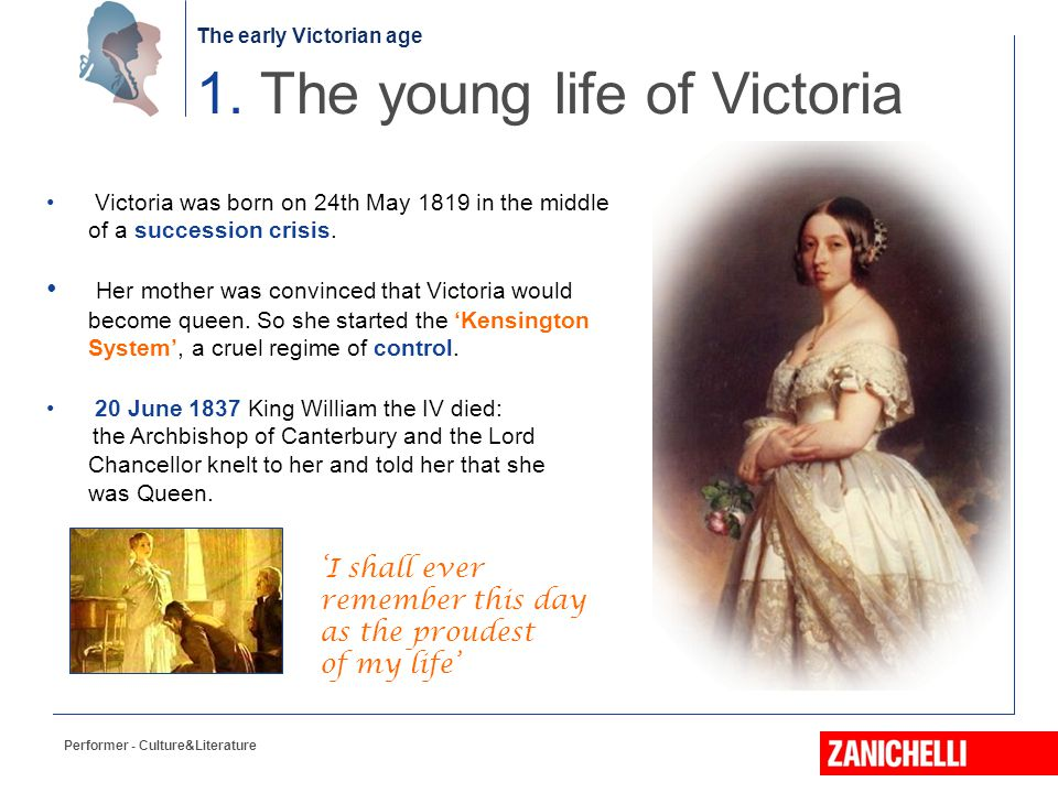 1. The young life of Victoria