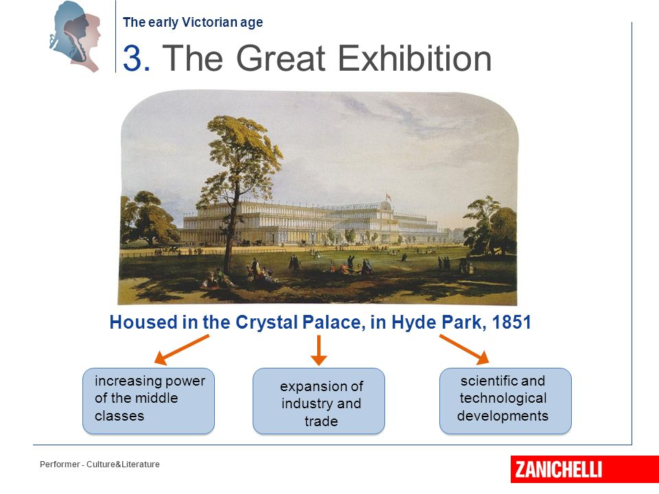 3. The Great Exhibition Housed in the Crystal Palace, in Hyde Park, 1851. increasing power. of the middle.