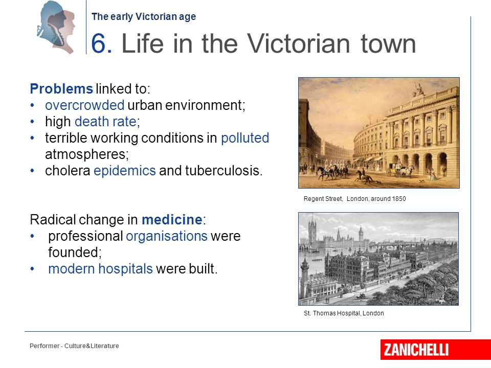 6. Life in the Victorian town