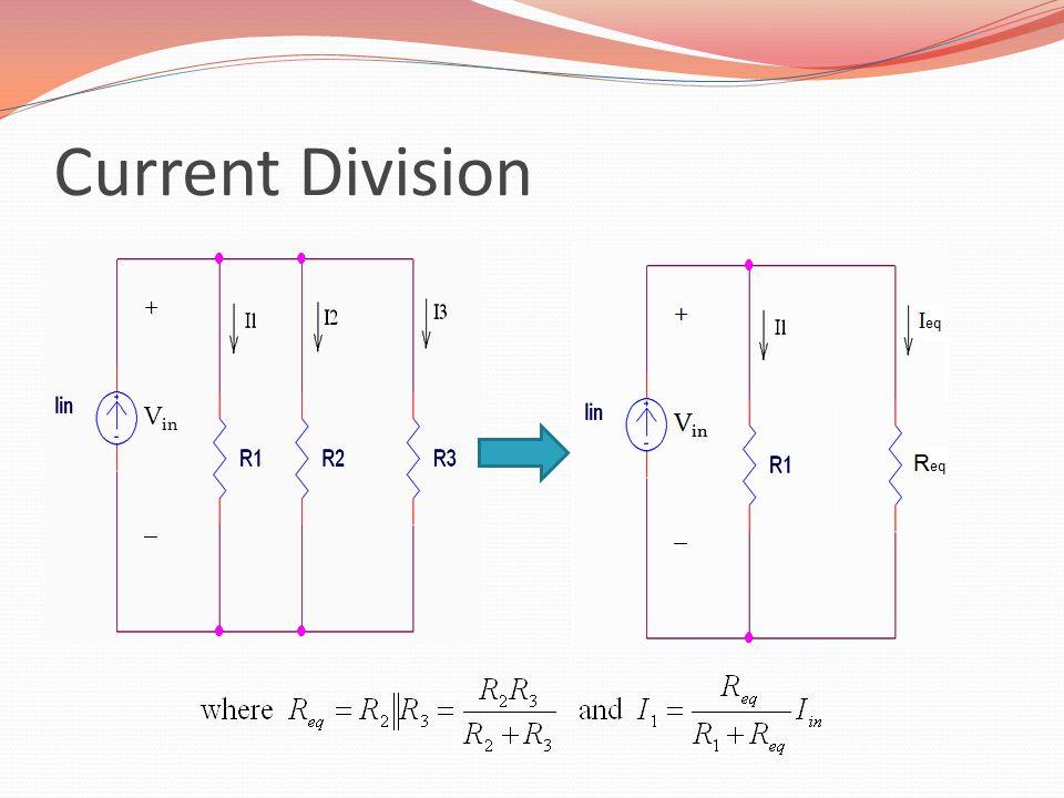 Current Division + Vin _