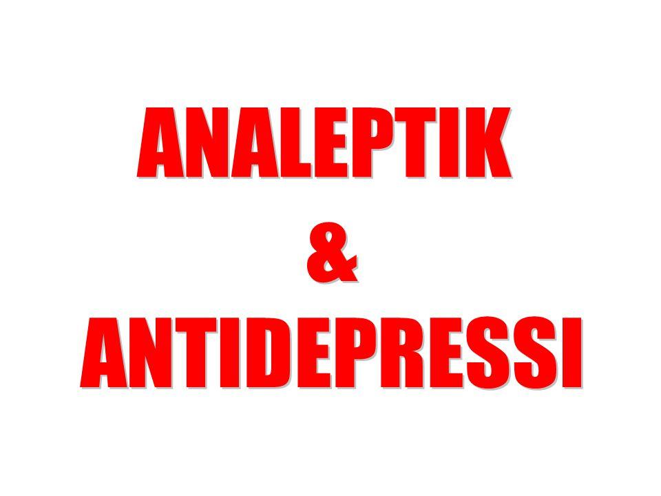 ANALEPTIK & ANTIDEPRESSI