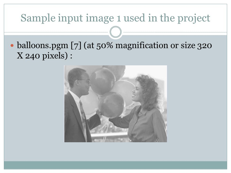 Sample input image 1 used in the project