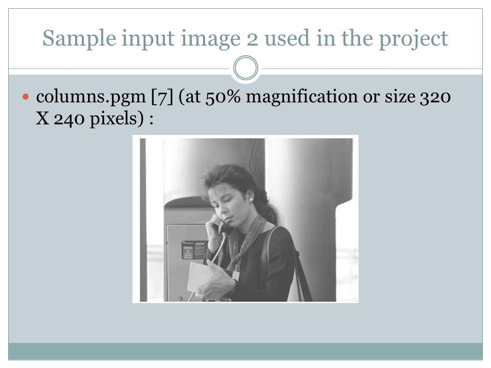 Sample input image 2 used in the project