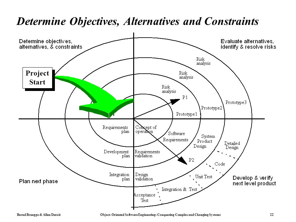 Determine Objectives, Alternatives and Constraints