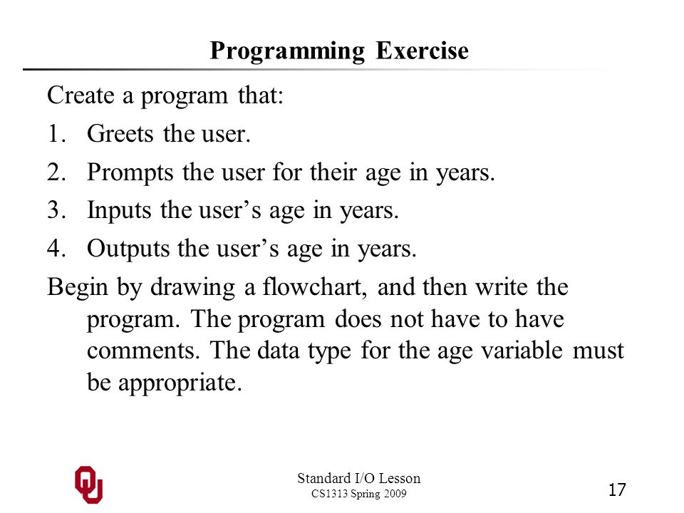 Prompts the user for their age in years.