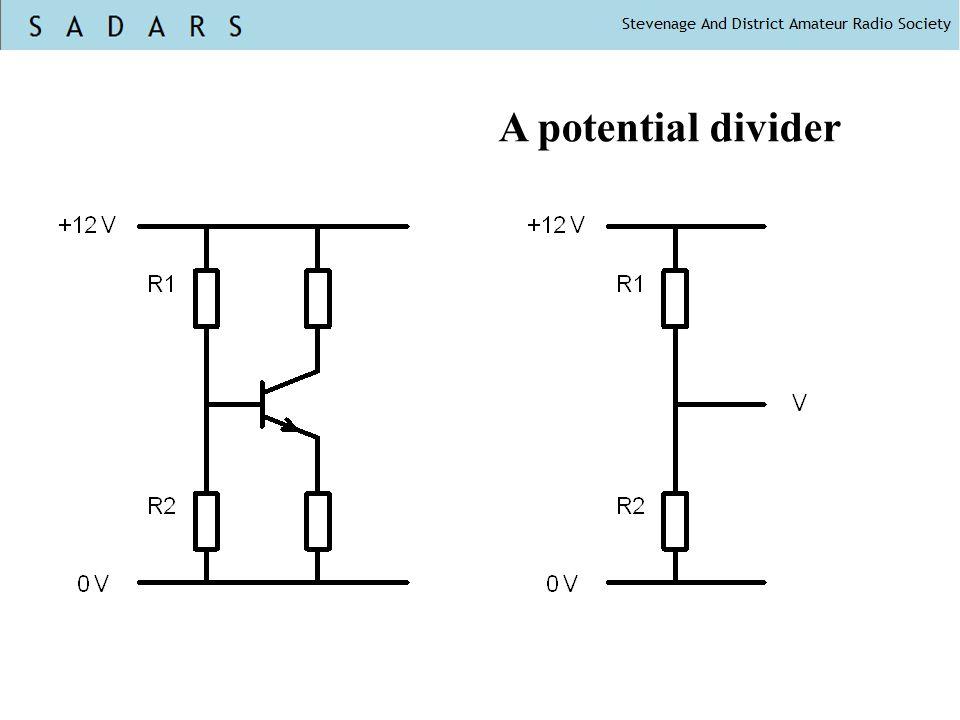 A potential divider