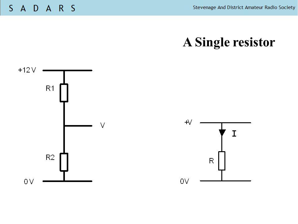 A Single resistor