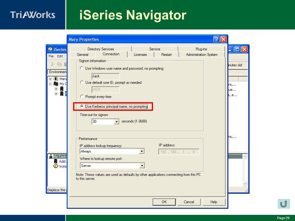 iSeries Navigator