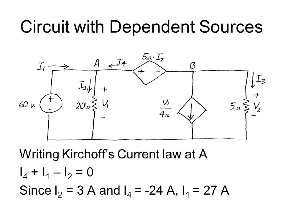 Circuit with Dependent Sources