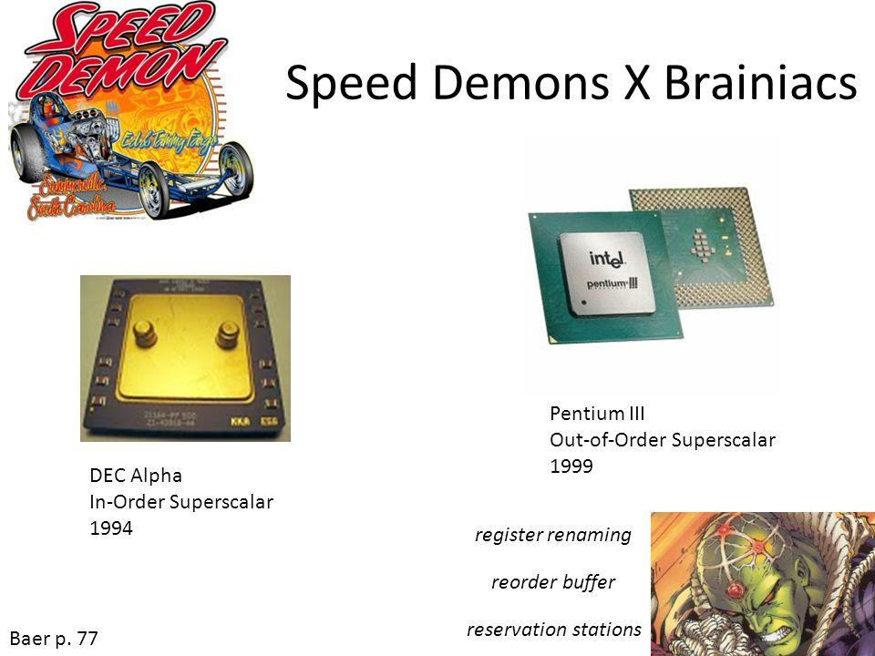 Speed Demons X Brainiacs