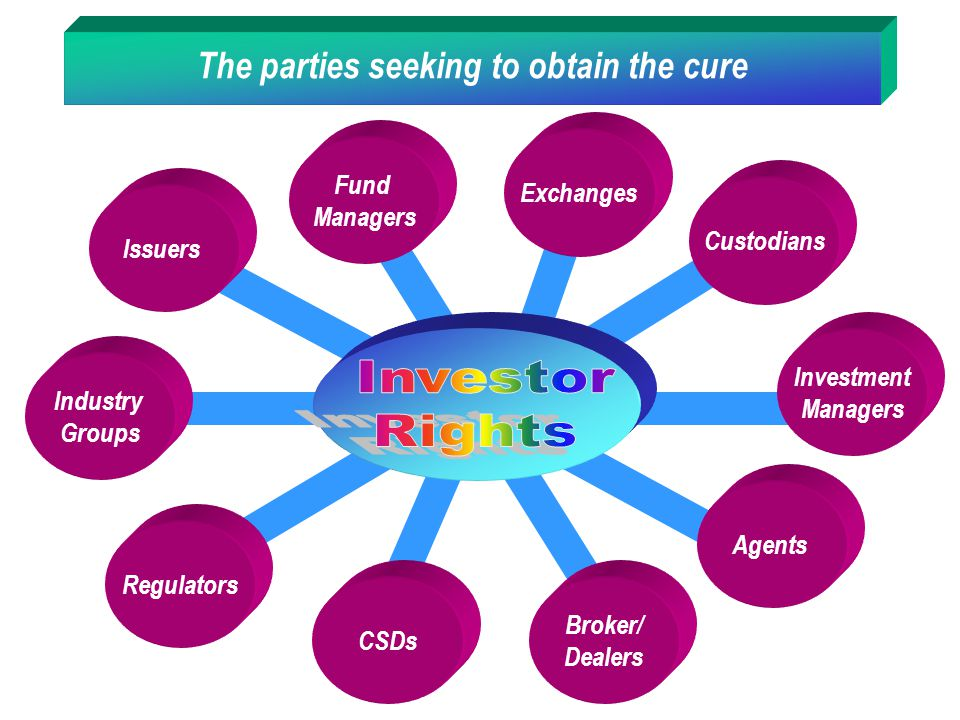 The parties seeking to obtain the cure