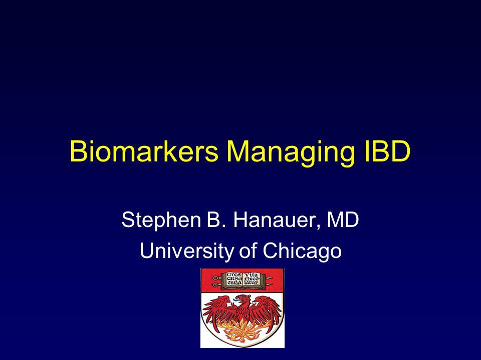 Biomarkers Managing IBD