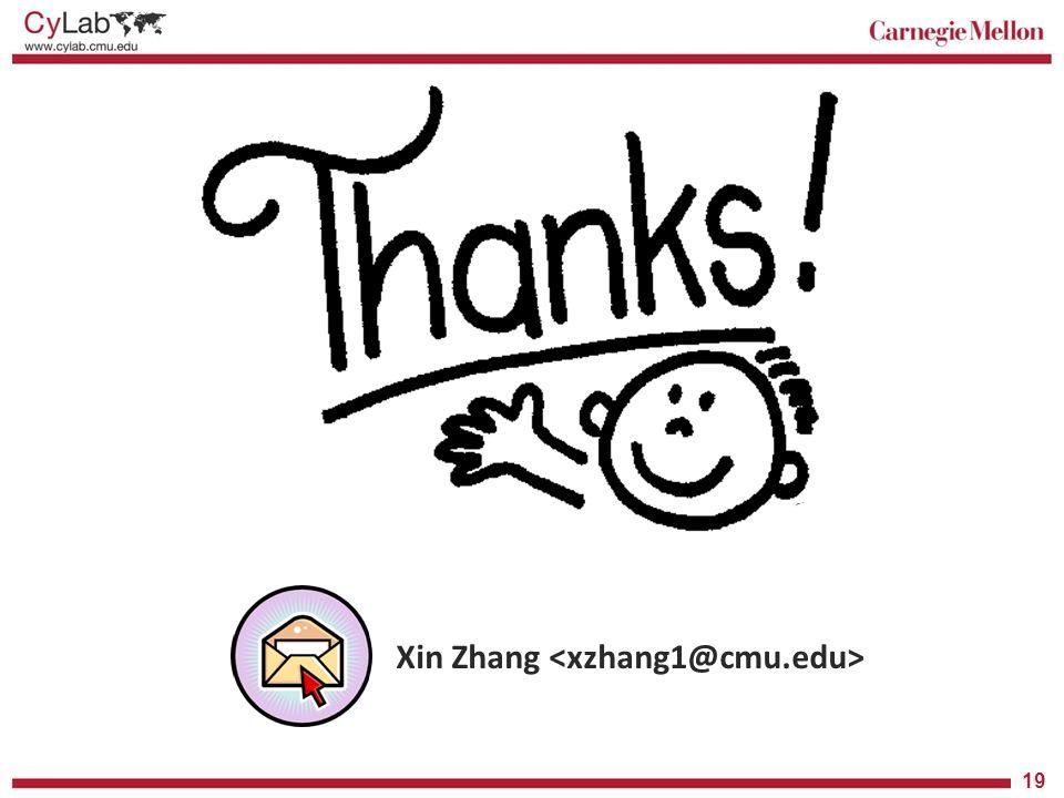 Xin Zhang <xzhang1@cmu.edu>