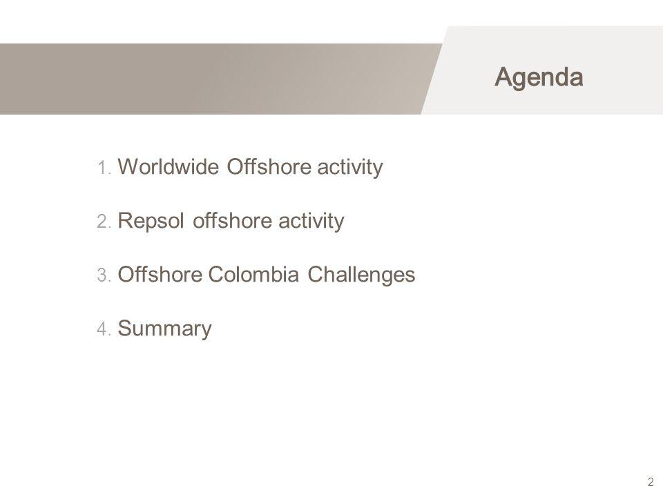 Worldwide Offshore activity