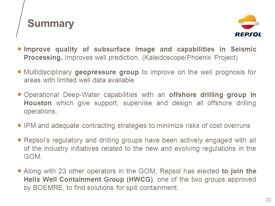 Summary Improve quality of subsurface image and capabilities in Seismic Processing. Improves well prediction. (Kaleidoscope/Phoenix Project)